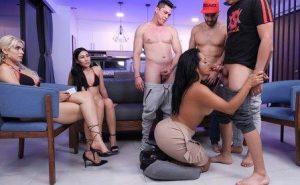 SexMex Gali Diva Gangbang Reality Show Pt3